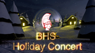 BHS Holiday Concert Graphic
