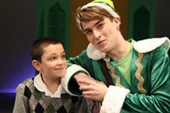 buddy the elf with his little brother