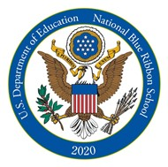 National Blue Ribbon School 2020 Emblem