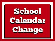 school calendar change graphic
