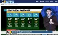 bOARDMAN SENIOR ANTHONY STEINER DOING WEATHER FORECAST ON BSTN WFMJ PROFILE