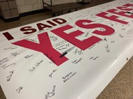 YESFEST BANNER WITH SIGNATURES 2019