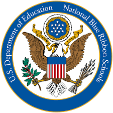 national blue ribbon graphic