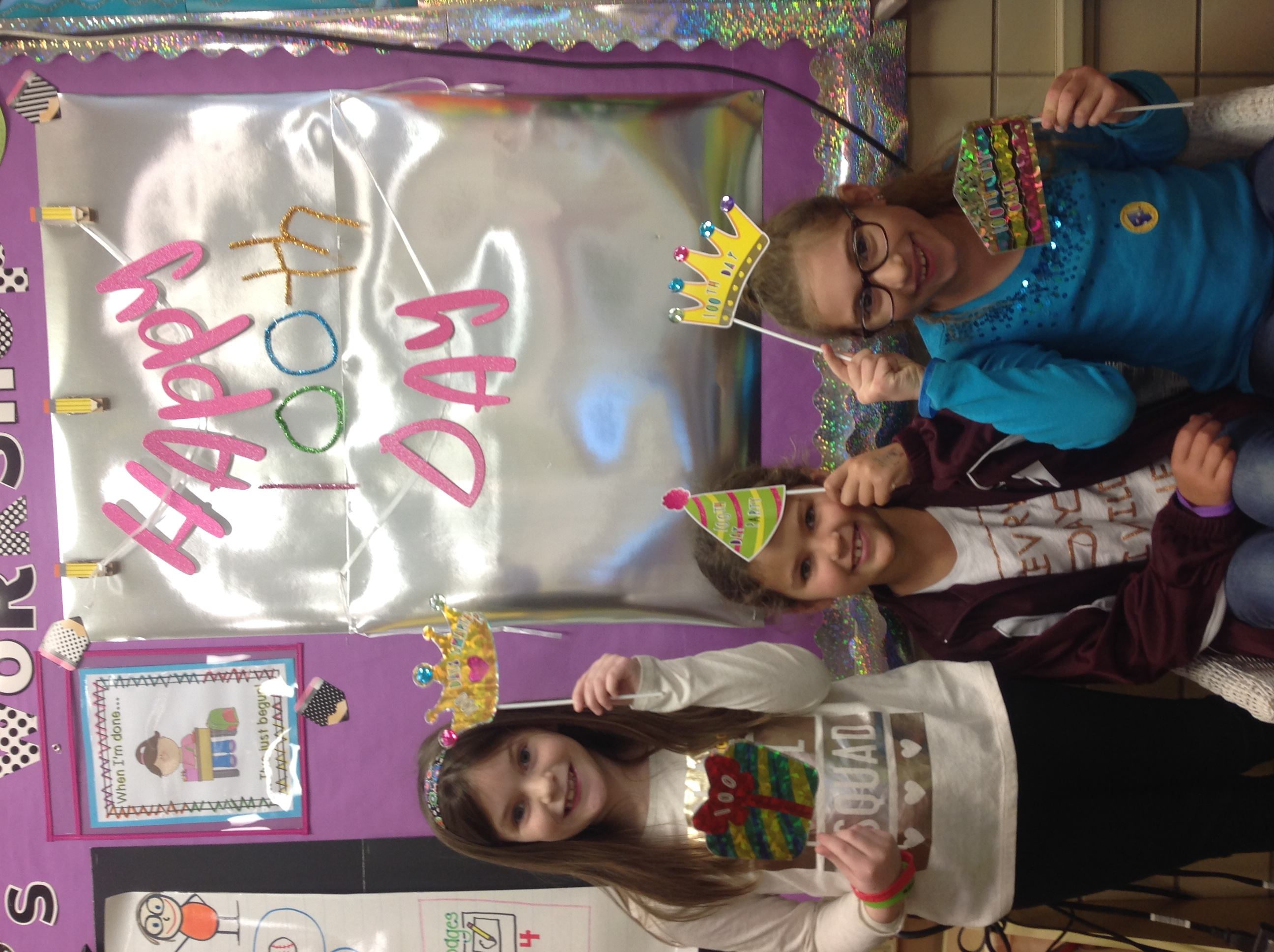 Robinwood Elementary Students Celebrate 100 days of learning