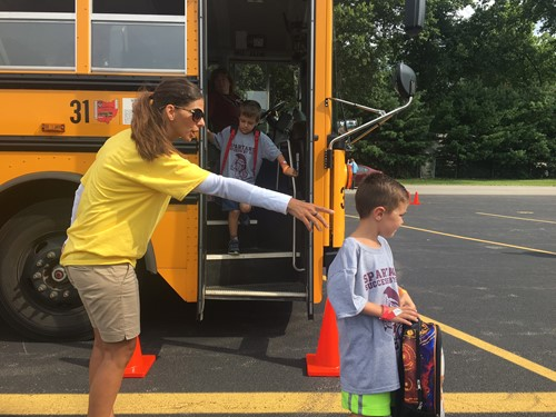 learning about bus safety