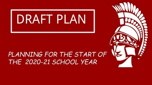 DRAFT Restart plan for 2020-2021