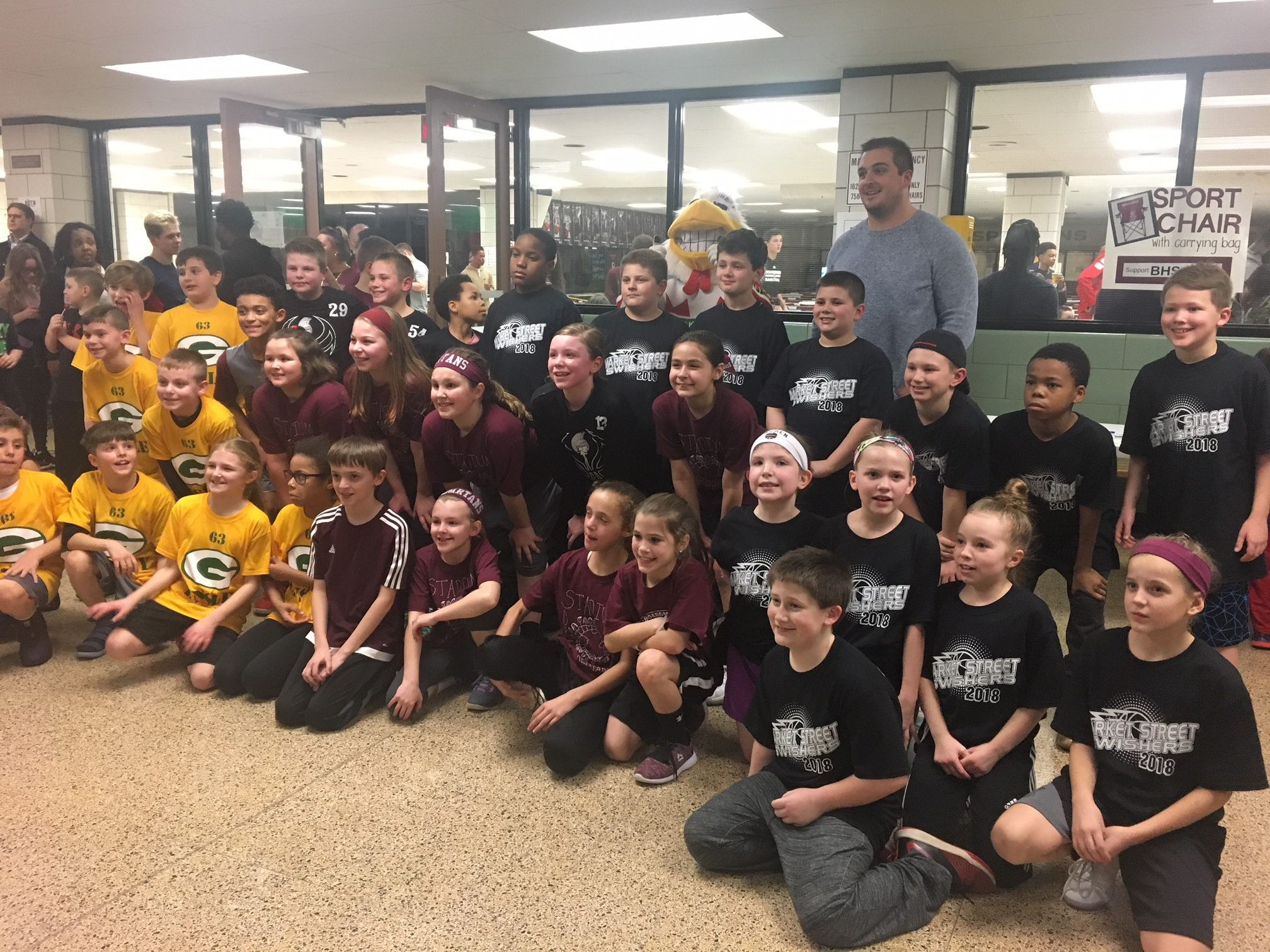 Elementary Night teams with Corey LInsley